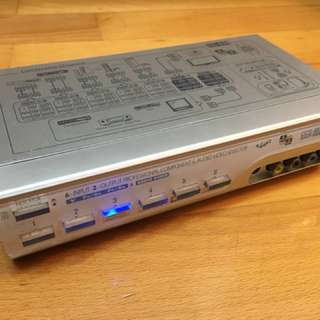 6-Input 2-Output Professional Component & Audio Video Selector