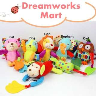 Baby Teether for Stroller/Baby Cot