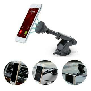 extendable magnetic handphone car holder
