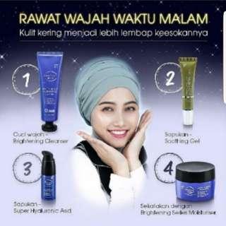 Authentic Brightening Skincare Series Beauty Box B BBS From Sendayu Tinggi STPO