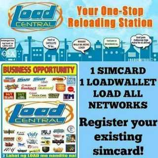 1 Sim Load All Networks