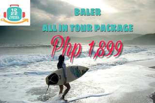 BALER ALL IN TOUR PACKAGE