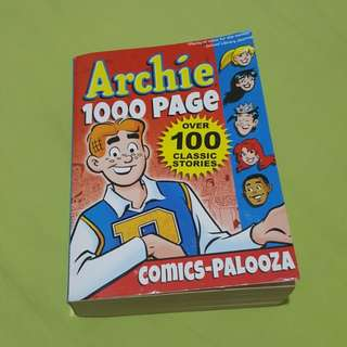 Archie comic 1000 pages