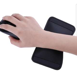 Leather Mouse Hand Holder Mouse Pad Gaming Hand Wrist Guard Medical Ice Bag
