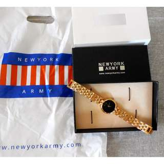 New York Army Gold Watch