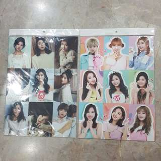 TWICE photo poster + stickers