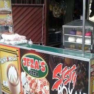 Food Cart With Fridge