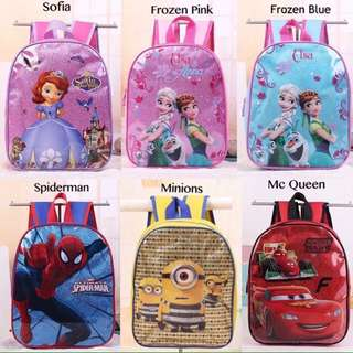 🔥HOT SALES!!🔥FREE SHIPPING glitter cartoon kids casual school bag #15Off