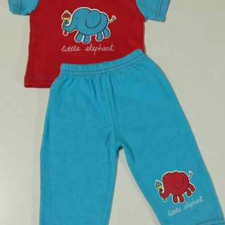 New Born Pajama Set
