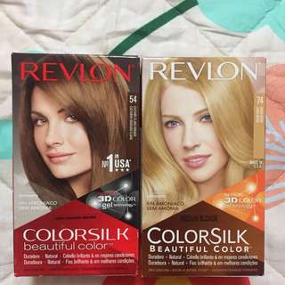 2 for $10 REVLON COLORSILK hair dye