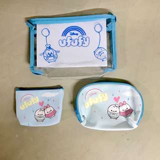 Ufufy Cosmetic Pouches (a set of 3)