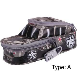 [PO] Army car / tank pencil case