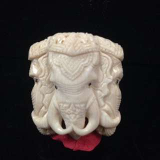 Thai Amulet Ivory (28mmx32mm)