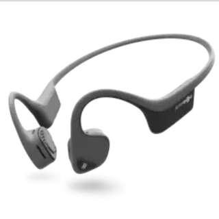 全新 Aftershokz Trekz AIR AS650 耳骨傳送 無線藍牙耳機 灰藍綠 3色  有Mic 支援 iPhone Apple Android 手機免提 Mobile
