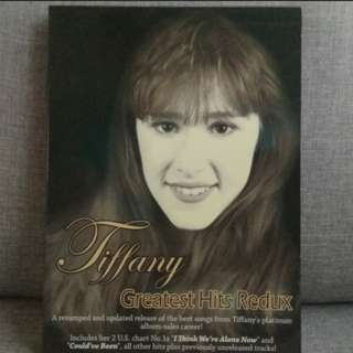 arthcd TIFFANY Greatest Hits Redux CD (I Think We're Alone Now, Could've Been, I Saw Him Standing There etc)