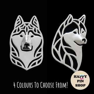 Year of Dog - Husky 3D Metal Pins