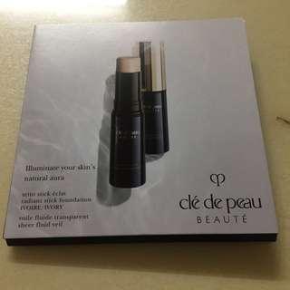 Cle De Peau Radiant Stick Foundation & Sheer Fluid Veil