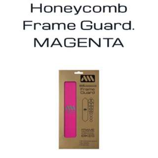 AMS All Mountain Style Honeycomb Frameguard Magenta