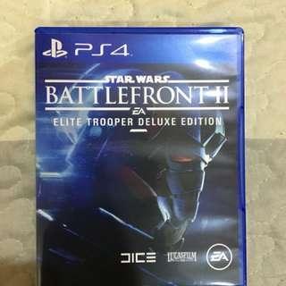 PS4 cd games Star Wars Battlefront II
