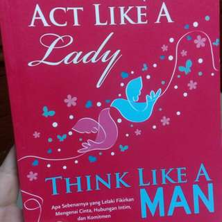 Act Like A Lady, Think Like A Man by Steve Harvey (translated)