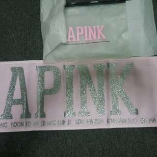 [Apink] Official Slogan Towel #Apink #Kpop