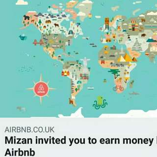 Sign up to host on Airbnb !! Gain extra income from your property !!