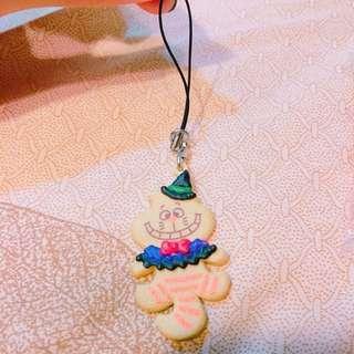 🚚 妙妙貓萬聖節餅乾吊飾