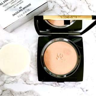 Lancôme Dual Finish Highlighter 💫 04 Dazzling Bronze