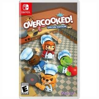 收 Switch Overcooked (Special Edition)