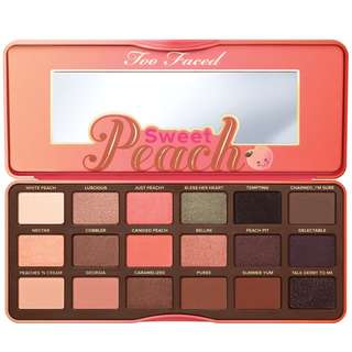 Too Faced Sweet Peach Eye Shadow Palette [100% ORIGINAL]