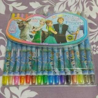 Frozen Color Pencils 冰雪奇緣 蠟筆 顏色筆