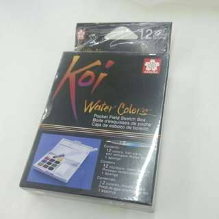 [ TERMURAH ] Koi Watercolor 12