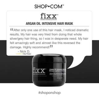 Fixx Solution-Oriented Products® Argan Oil Intensive Hair Mask