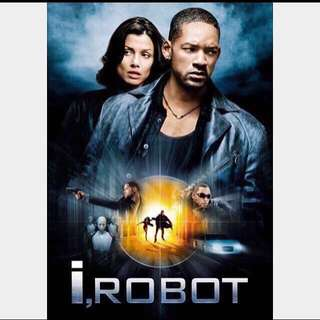 "Good Condition, ""i, Robot' Movie Poster (Original, double-sided): 85% off Retail"