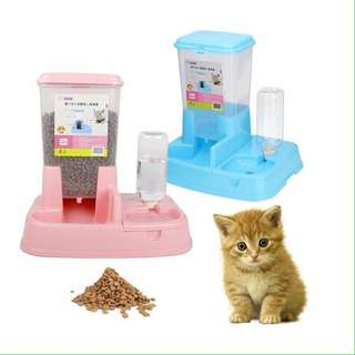 🔥HOT SALES!!🔥Japanese Style 2 in 1 Automatic Pet Food Water Feeder Dispenser #15Off