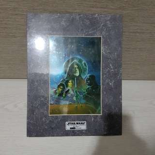 Limited Edition Star Wars Chromart Collectibles Printwork Issue 06148 of 10000 (35.5cm×27.7cm)