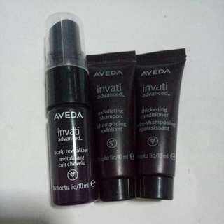 BN Aveda Invati Advanced Scalp Revitalizer Or  Exfoliating Shampoo Or Thickening Conditionee