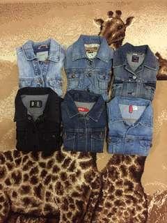 Jacket Jeans Branded