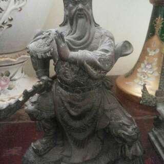Old Buddha bronze Statue 4 pcs