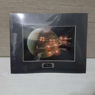 Star Wars Special Edition X-wings Approach Death Star Collector's Edition Print (35.5cm×27.7cm)