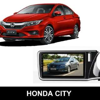 Honda City 2016 – HARDSTONE 10.2″ HD screen + DSP sound on Android 6.0 (PD1187)