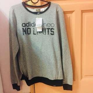 Unisex Original Adidas Men Women Long Sleeve Sweater