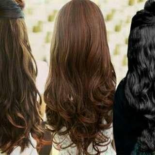 Hairclip big layer murah