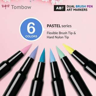 Pastel Set — Tombow ABT Dual Brush Pens