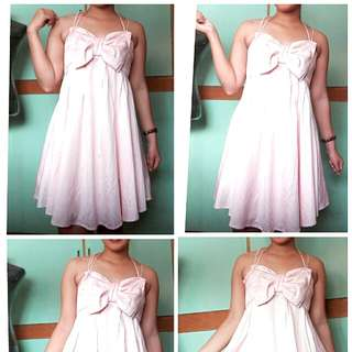 Pink Party Dress