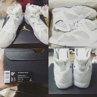 Jordan 7 pure money size 9.5 mens 100% legit