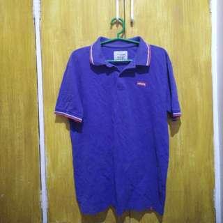Levi's polo shirt (blue)