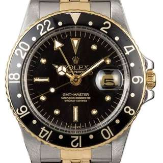 1978 Rolex GMT Master 1675 Root Beer
