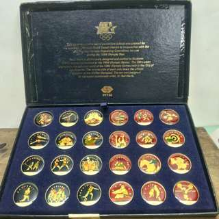 TOKEN OLYMPIC 1984