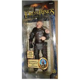 絕版 Toybiz 魔戒 The Lord of the Rings 獸人 Gothmog Morannon Orc Commander 1盒